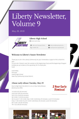 Liberty Newsletter, Volume 9