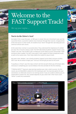 Welcome to the FAST Support Track!
