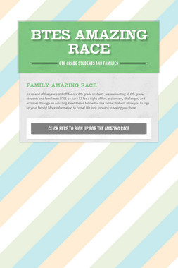 BTES Amazing Race