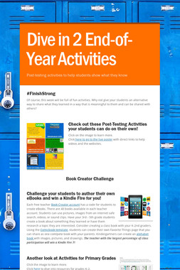 Dive in 2 End-of-Year Activities