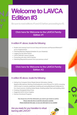 Welcome to LAVCA Edition #3