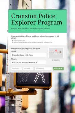 Cranston Police Explorer Program