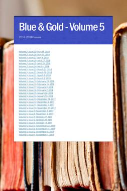 Blue & Gold - Volume 5
