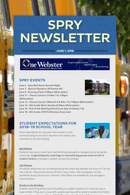 Spry Newsletter