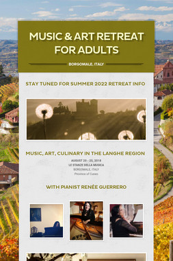 MUSIC & ART RETREAT FOR ADULTS