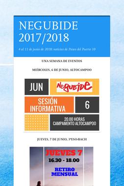 NEGUBIDE 2017/2018