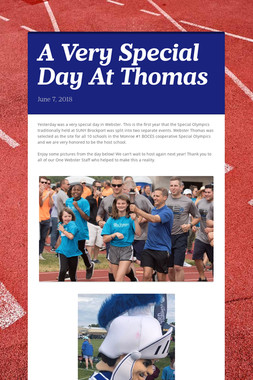A Very Special Day At Thomas