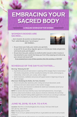 Embracing Your Sacred Body