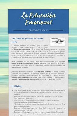 La Educación Emocional