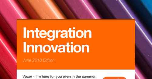 Integration Innovation