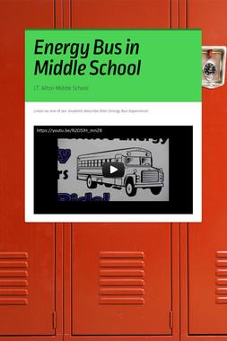 Energy Bus in Middle School