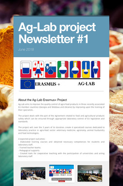 Ag-Lab project Newsletter #1