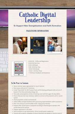 Catholic Digital Leadership