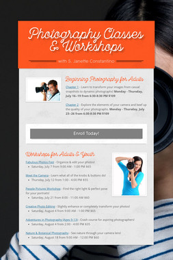 Photography Classes & Workshops