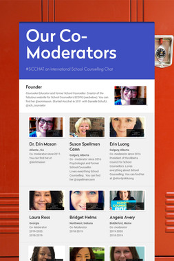 Our  Co- Moderators