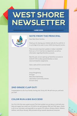 West Shore Newsletter