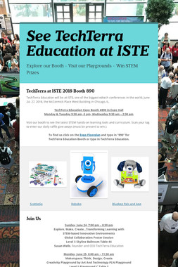 See TechTerra Education at ISTE