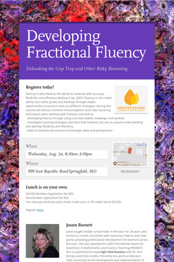 Developing Fractional Fluency