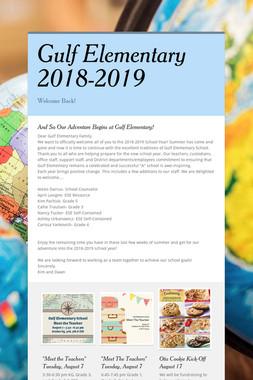 Gulf Elementary 2018-2019