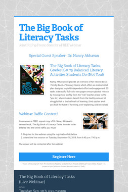 The Big Book of Literacy Tasks