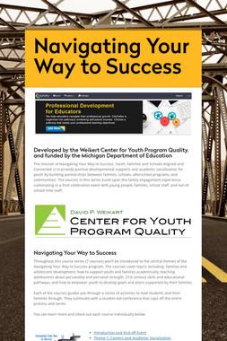Navigating Your Way to Success