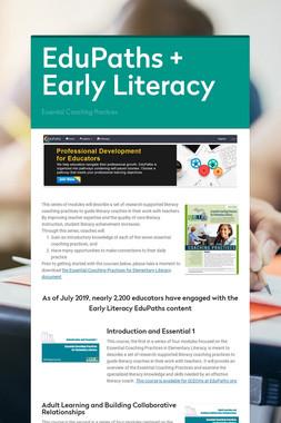 EduPaths + Early Literacy