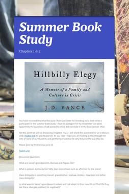 Summer Book Study