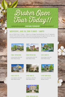 Broker Open Tour Today!!