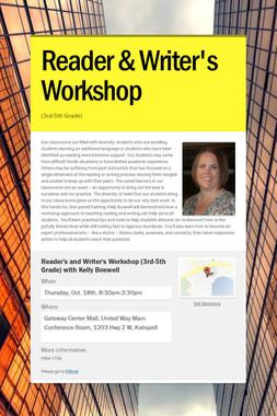Reader & Writer's Workshop