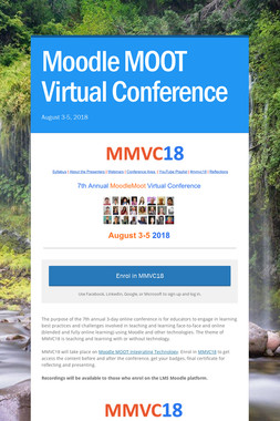 Moodle MOOT Virtual Conference