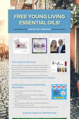 Free Young Living Essential Oils!