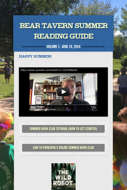 Bear Tavern Summer Reading Guide