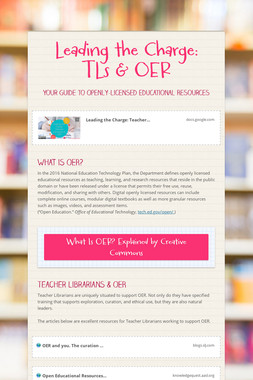 Leading the Charge: TLs & OER