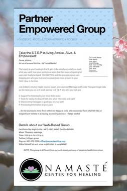 8-Week Partner Empowered Group