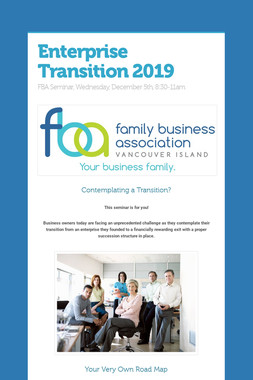 Enterprise Transition 2019