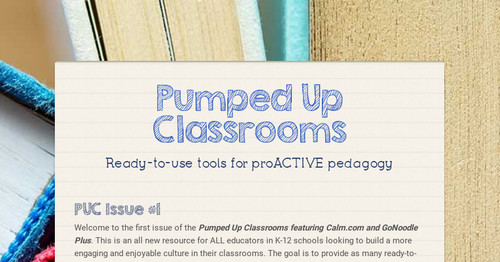 Pumped Up Classrooms