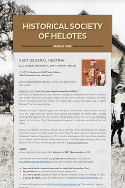 Historical Society of Helotes