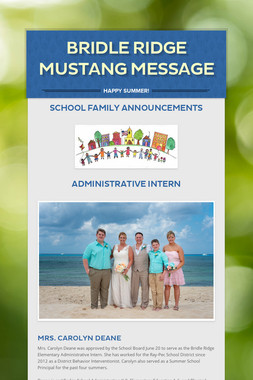 Bridle Ridge Mustang Message