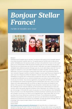 Bonjour Stellar France!