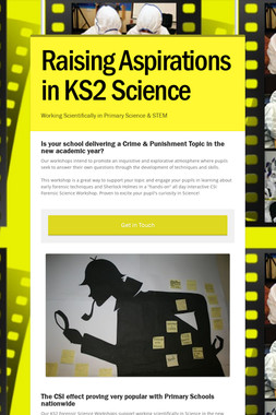 Raising Aspirations in KS2 Science