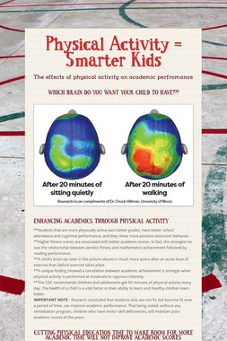 Physical Activity = Smarter Kids