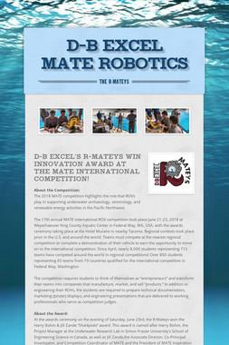 D-B EXCEL MATE Robotics