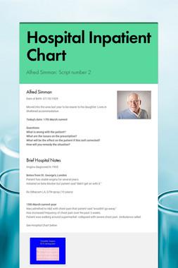 Hospital Inpatient Chart