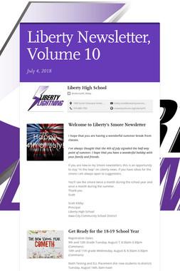 Liberty Newsletter, Volume 10