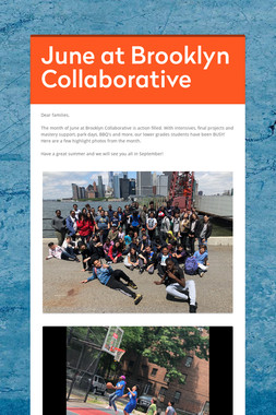 June at Brooklyn Collaborative
