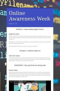 Online Awareness Week