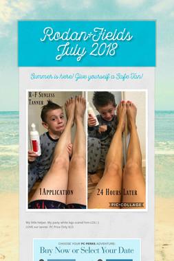 Rodan+Fields July 2018