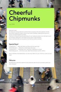 Cheerful Chipmunks