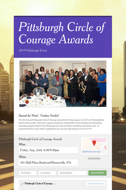 Pittsburgh Circle of Courage Awards