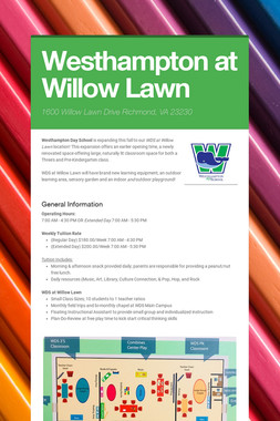 WDS at Willow Lawn
